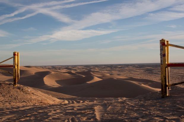 California Sand Dunes, Southern California